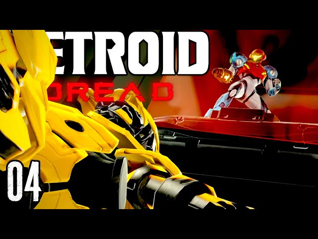 Let's Play Metroid Dread Part 4 - Can We Escape The Super Fast Yellow EMMI? (+Varia Suit Location)