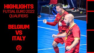 #FUTSAL​​ | #FutsalEURO​​ 2022 Qualification | Belgium 5-4 Italy