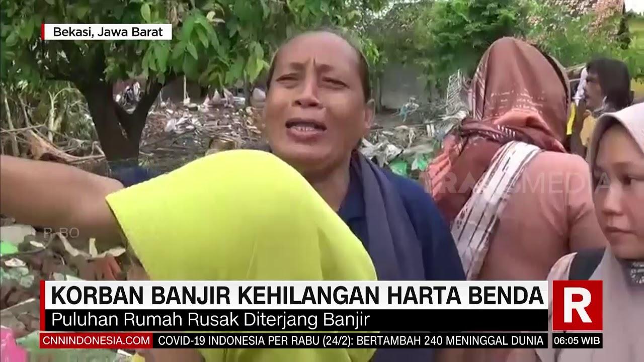 Korban Banjir Kehilangan Harta Benda   REDAKSI PAGI (25/02/21)