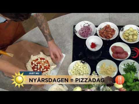 S bakar du pizza som proffsen - Nyhetsmorgon (TV4)