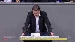 Stephan Brandner (AfD) zu Rechtsterrorismus  und Hasskriminalität am 12.03.20
