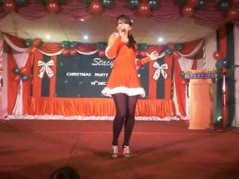 Stacy AF6 - Gagap ( Stacy Frendz Christmas Celebration 2008 - Majlis Sambutan Krismas )