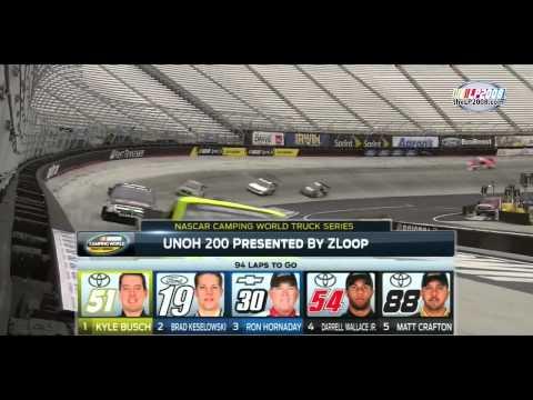 2014 UNOH 200 at Bristol Motor Speedway - NASCAR Camping World Truck Series [HD]