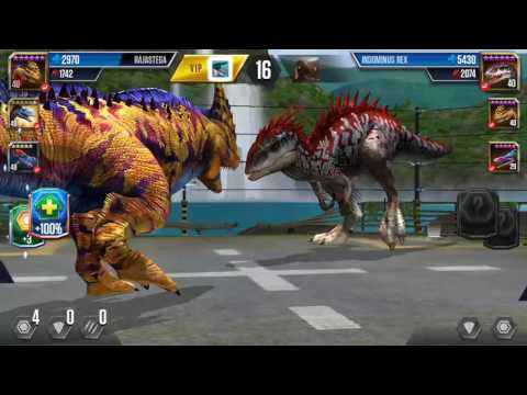 Jurassic world the game boosted arena epic battle losses