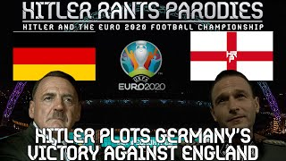 Hitler plots Germany's victory against England