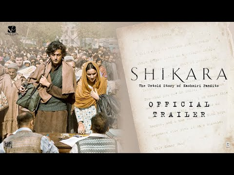Shikara | Official Trailer | Dir: Vidhu Vinod Chopra | 7th February 2020