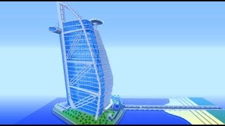 Burj Al Arab - 7 Star Hotel - Minecraft