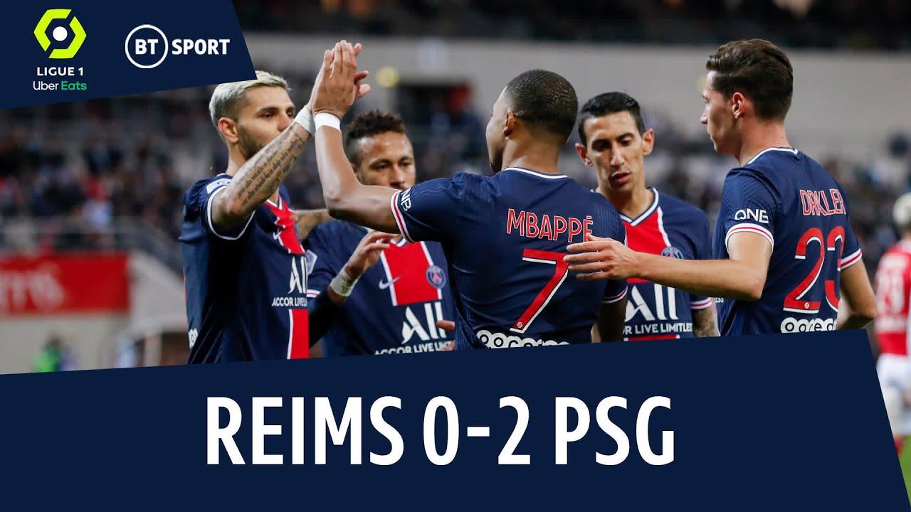 Reims vs PSG (0-2) | Ligue 1 highlights