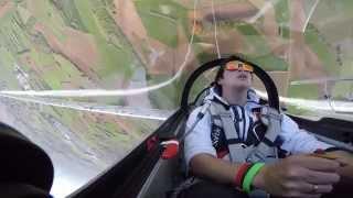 GoPro Hero 4 FLUX Red Bull Glider Aerobatic by Luca Bertossio