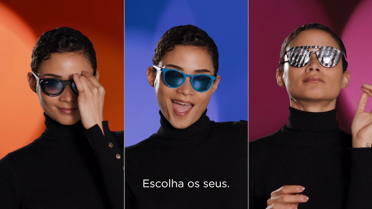 06bf4dffb Óculos graduados MAGIC 26 BK01 preto - Afflelou