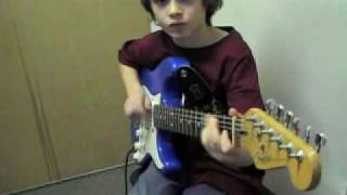 Where did the kid learn to play like that?