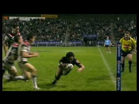 Warriors v Roosters 2008 - SkyTv