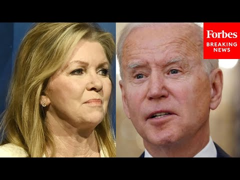 """You cannot make this up"": Marsha Blackburn apoplectic over Biden's first 100 days"