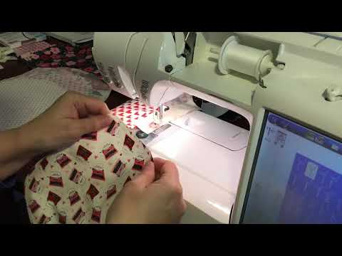Sewing Sashing on Octagon Quilt Blocks