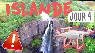 ISLANDE JOUR 4 : CRASHER SON DRONE DANS UNE CASCADE = DONE