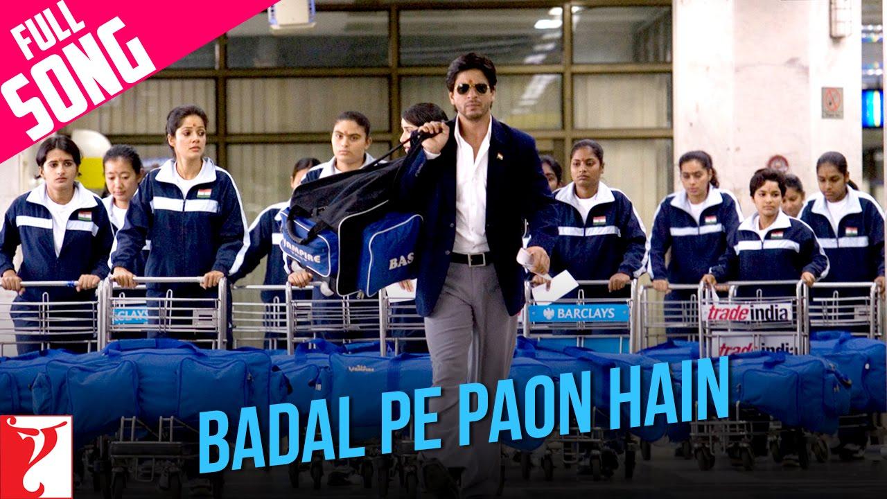 Badal Pe Paon Hain - Chak De India - Karaoke with Chorus ...