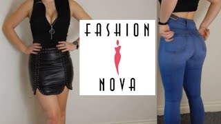 Fashionnova Try on Haul and Review - Size 5