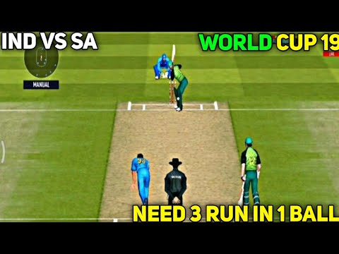 World Cup 2019 : India Vs Sauth Africa Match Highlights   Rc20   Real Cricket 20 Gameplay