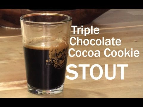 Triple Chocolate Cookie Stout - Homebrew Recipe Experiment