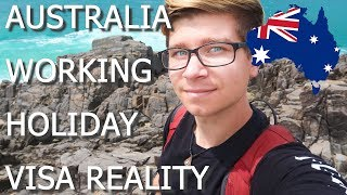 TRAVEL STORY TIME - REALITY OF AUSTRALIA WORKING HOLIDAY VISA