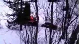 Ирбис Dingo T125 по рыхлому снегу в Мурманской области(150 км. от Мурманска. Рыбалка на озере Хутоявр., 2014-01-22T19:07:05.000Z)
