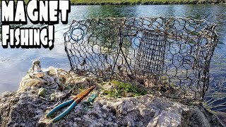 Magnet Fishing!! Searching For Treasure in South Florida Canals!!