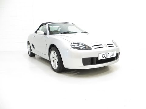 An Exceptional MG TF 135 with Just 23,823 Miles, Ready for Fun in the Sun! - £3,995