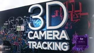 3D-KAMERA - TRACKER in After Effects Tutorial (Leicht)