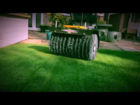 3D Grass Powerbrush Cleaning - Artificial Grass Cleaner