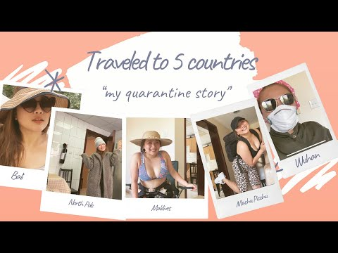 TRAVELED TO 5 COUNTRIES DURING COVID-19 OUTBREAK | Paulinaamarie Vlog
