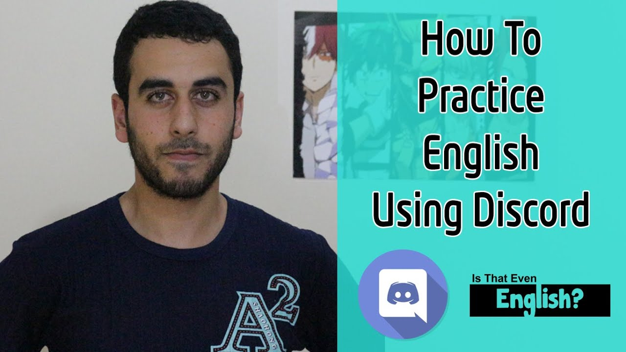 How to practice English using Discord