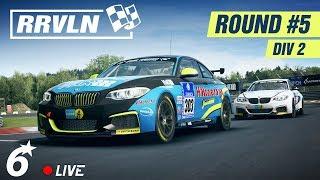 RACEROOM  // RRVLN - Round 5 / Div 2 🔴LIVE