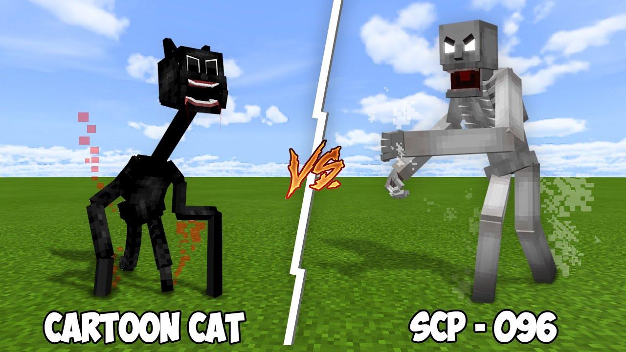 CARTOON CAT vs SCP-096!