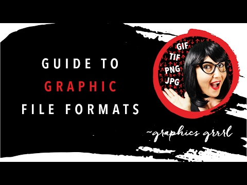 Guide to graphic file formats!