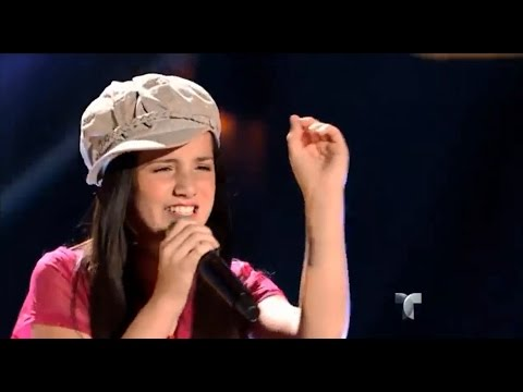 """Kimberly canta """"Malagueña Salerosa"""" en """"La Voz Kids"""""""