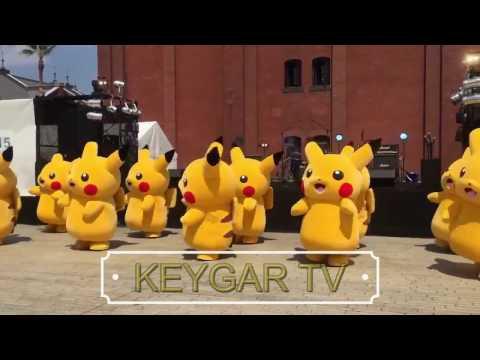 Pikachu Cicak-Cicak Di Dinding Goyang Pokemon | Popular Lagu Anak Nursery Rhymes Indonesia 2017