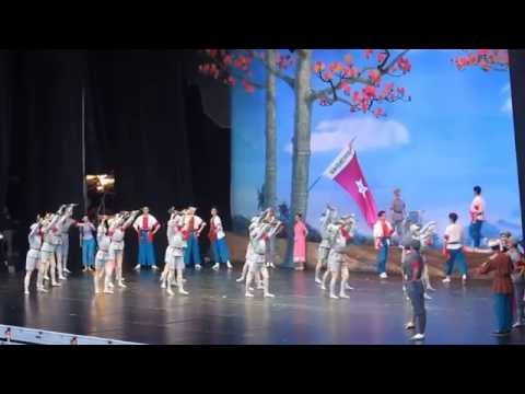 CHINA CENTRAL BALLET TROUPE . THE RED DETACHMENT OF WOMEN. Helsinki  August 2015