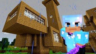Новый ДОМ. Игра Minecraft Выживание на Телефоне на русском языке. Майнкрафт. Кока Плей