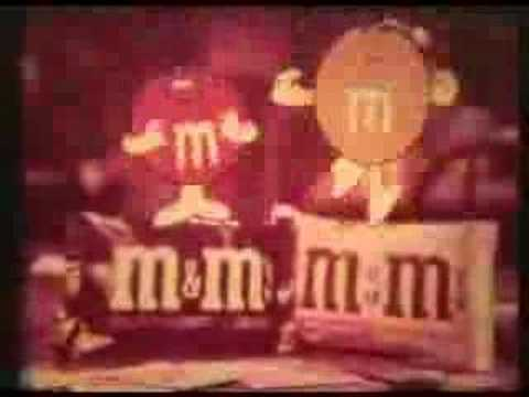 M&M Candy Commercial - Go Fish - 1972