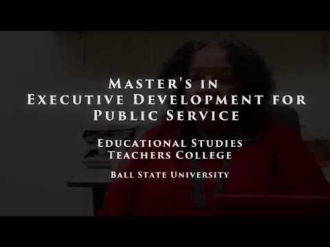 MA in Executive Development for Public Service