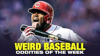 Puig and Baez lead Weird Baseball of the Week!