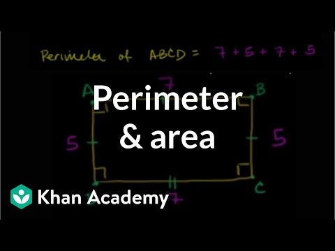 Perimeter and area: the basics | Perimeter, area, and volume