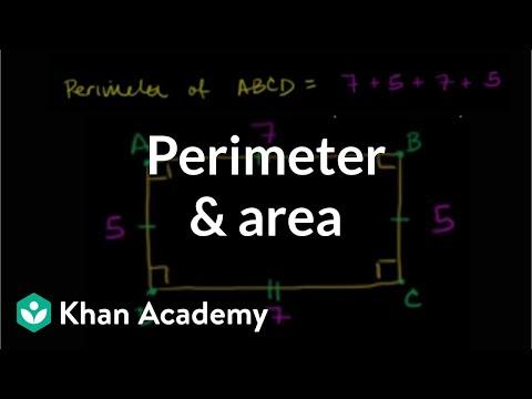 Perimeter and area: the basics | Perimeter, area, and volume | Geometry | Khan Academy
