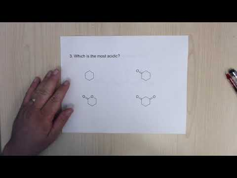 ACS Organic Chemistry Final Exam Review Acids And Bases