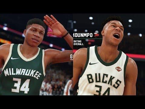 NBA 2K19 Giannis Antetokounmpo Screenshot and Rating!