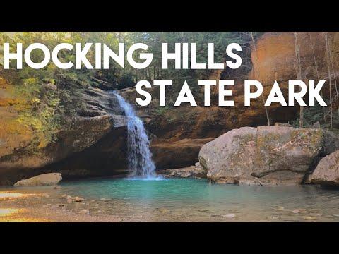 Hiking At Hocking Hills State Park