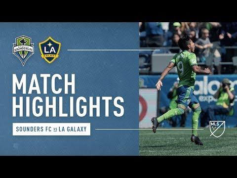 HIGHLIGHTS: Seattle Sounders vs. LA Galaxy | August 18, 2018