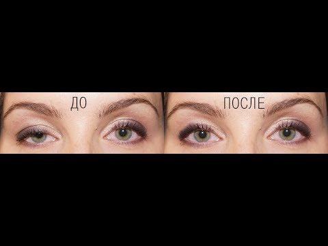 Замена одного прикрытого глаза на другой в Фотошоп (Photoshop)