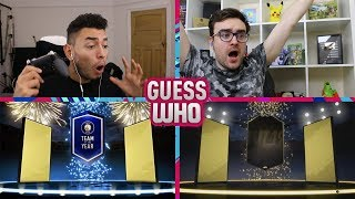 NAH THIS IS RIDICULOUS 😱 THE FINAL TOTY GUESS WHO FIFA vs AJ3 (TOTY PACKS)