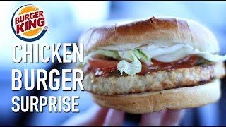 WTF is a Chicken Burger?